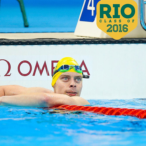 Tim wins gold at the Rio Paralympics
