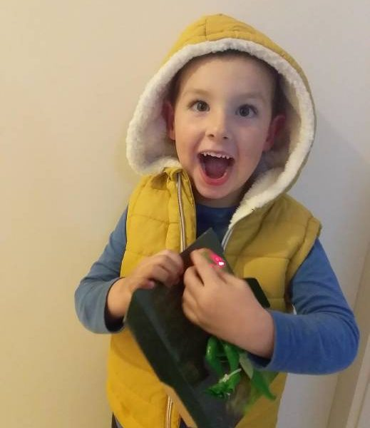Four year old Victor blossoms with support from Noah's Ark